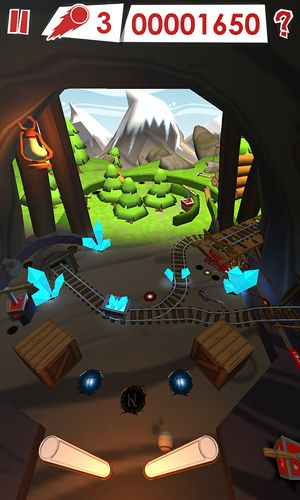 Screenshots of the Pinball planet game for iPhone, iPad or iPod.