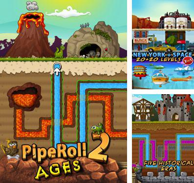 In addition to the game Combo queen for iPhone, iPad or iPod, you can also download PipeRoll 2 Ages for free.