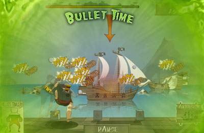 Геймплей Pirate : Cannonball Siege для Айпад.