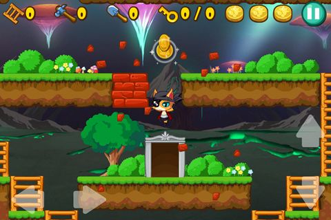 Écrans du jeu Pirate cat pour iPhone, iPad ou iPod.