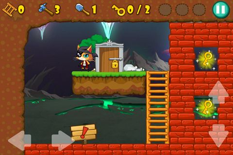 Capturas de pantalla del juego Pirate cat para iPhone, iPad o iPod.