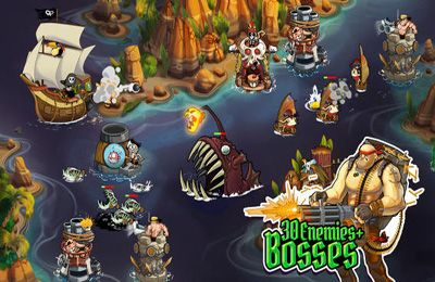Download Pirate Legends TD iPhone free game.