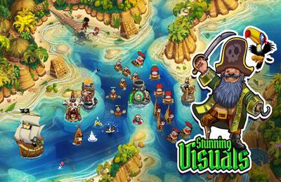 Screenshots of the Pirate Legends TD game for iPhone, iPad or iPod.