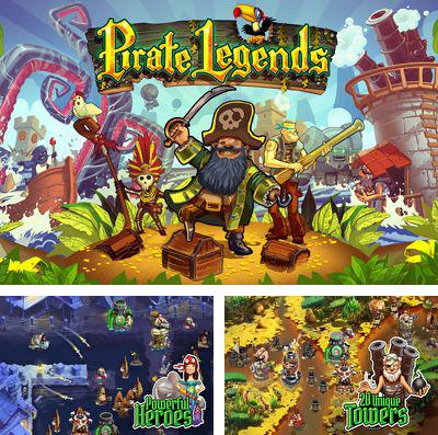 Pirate Legends TD iPhone game - free  Download ipa for iPad,iPhone,iPod