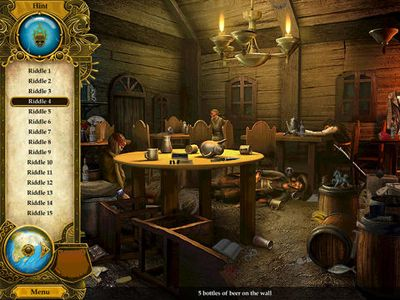 Écrans du jeu Pirate Mysteries pour iPhone, iPad ou iPod.