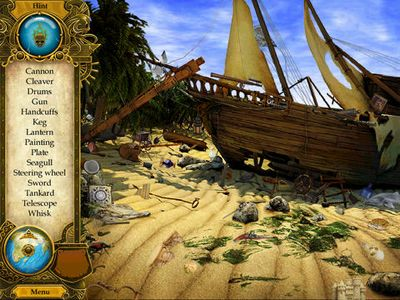Screenshots of the Pirate Mysteries game for iPhone, iPad or iPod.
