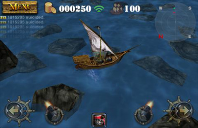 Free Pirates 3D Cannon Master download for iPhone, iPad and iPod.