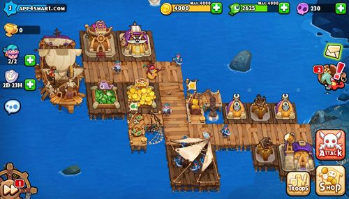 Screenshots vom Spiel Pirates journey für iPhone, iPad oder iPod.