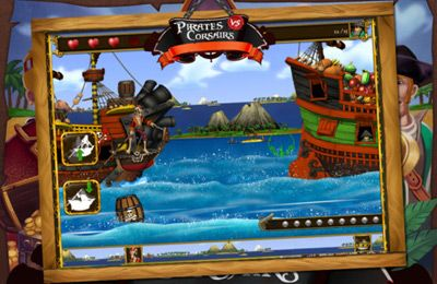 Download Pirates vs Corsairs: Davy Jones' Gold HD iPhone free game.