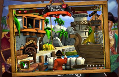 Free Pirates vs Corsairs: Davy Jones' Gold HD download for iPhone, iPad and iPod.