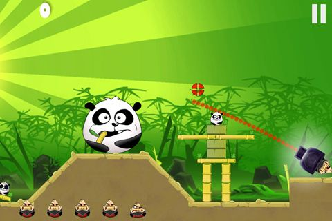 Capturas de pantalla del juego Pirates vs. ninjas vs. zombies vs. pandas para iPhone, iPad o iPod.