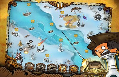 Screenshots of the Pirrrates! game for iPhone, iPad or iPod.