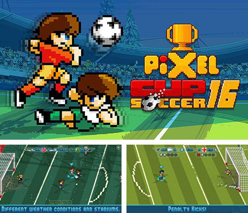 In addition to the game Tanks battalion: Blitz for iPhone, iPad or iPod, you can also download Pixel cup: Soccer 16 for free.