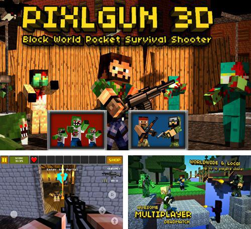 In addition to the game 4×4 jam for iPhone, iPad or iPod, you can also download Pixel Gun 3D for free.