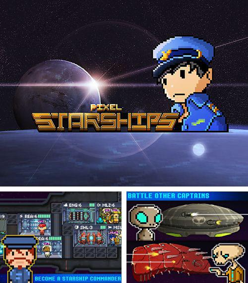 In addition to the game Glass road for iPhone, iPad or iPod, you can also download Pixel starships for free.