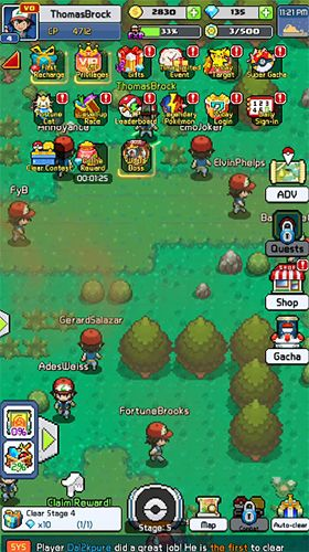 Screenshots do jogo Pixel tamers para iPhone, iPad ou iPod.