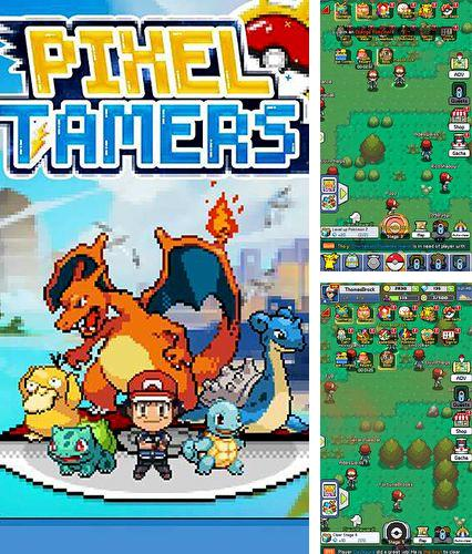 In addition to the game Lines for iPhone, iPad or iPod, you can also download Pixel tamers for free.