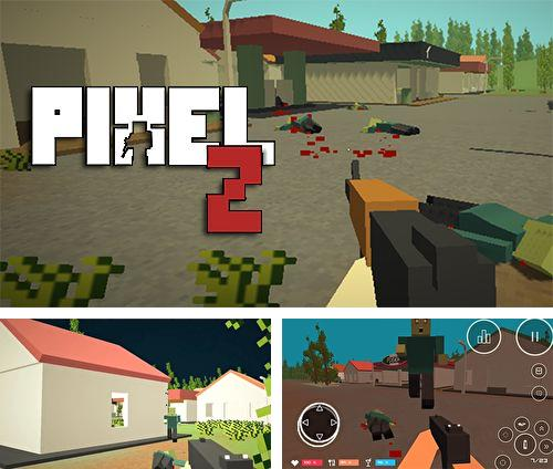 Download Pixel Z: Gun day iPhone free game.