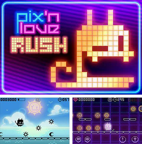 In addition to the game BMO snaps for iPhone, iPad or iPod, you can also download Pix'n love rush for free.