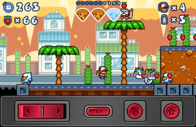 Screenshots of the Pizza Boy game for iPhone, iPad or iPod.