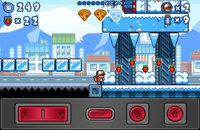 Capturas de pantalla del juego Pizza Boy para iPhone, iPad o iPod.