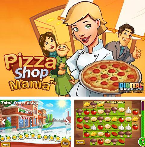 In addition to the game Bus Parking 3D for iPhone, iPad or iPod, you can also download Pizza shop mania for free.