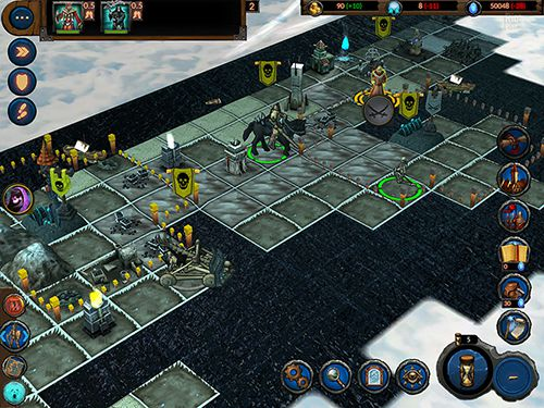 Capturas de pantalla del juego Planar conquest para iPhone, iPad o iPod.