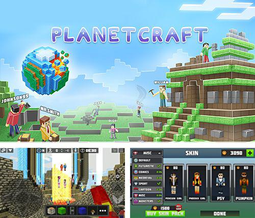 In addition to the game Crazy Caps for iPhone, iPad or iPod, you can also download Planet craft for free.