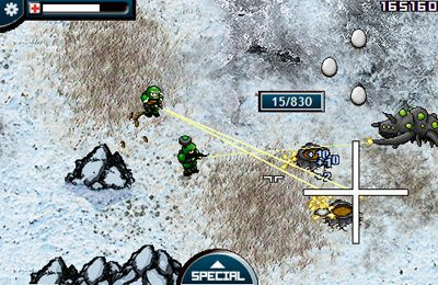 Écrans du jeu Planet Wars pour iPhone, iPad ou iPod.