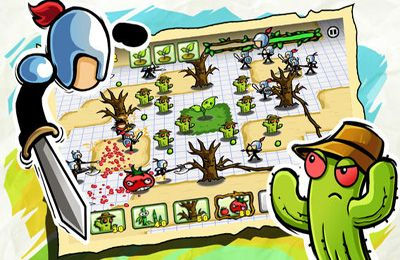 Download Plants vs. Stick iPhone free game.