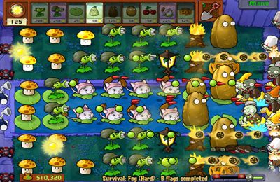 Download Plants vs. Zombies iPhone free game.