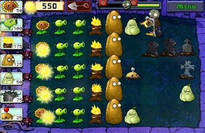 Descarga gratuita de Plants vs. Zombies para iPhone, iPad y iPod.