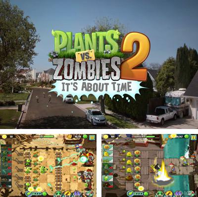 Download Plants vs. Zombies 2 iPhone free game.