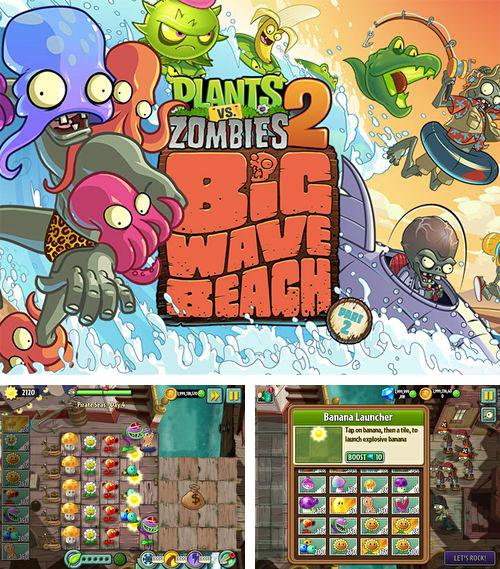 En plus du jeu Manie de basketball: Toutes les vedettes  pour iPhone, iPad ou iPod, vous pouvez aussi télécharger gratuitement Plantes contre zombis 2: Grande vague marine , Plants vs. zombies 2: Big wave beach.