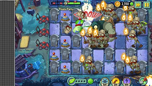 Игра Plants vs. zombies 2: Modern day для iPhone