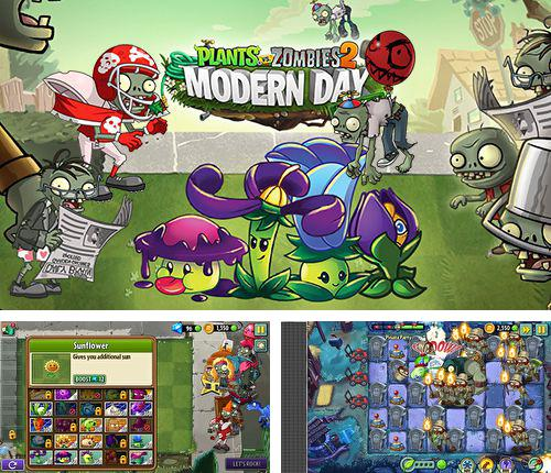 Скачать Plants vs. zombies 2: Modern day на iPhone бесплатно
