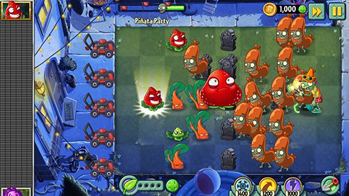 Гра Plants vs. zombies 2. Summer nights: Strawburst для iPhone