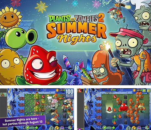 Baixe o jogo Plants vs. zombies 2. Summer nights: Strawburst para iPhone gratuitamente.