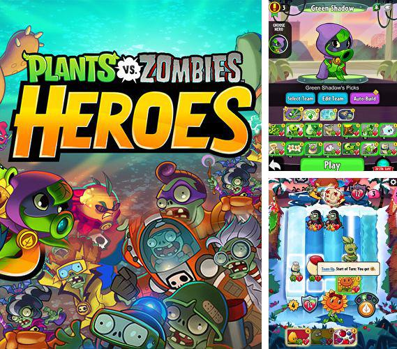 Download Plants vs. zombies: Heroes iPhone free game.