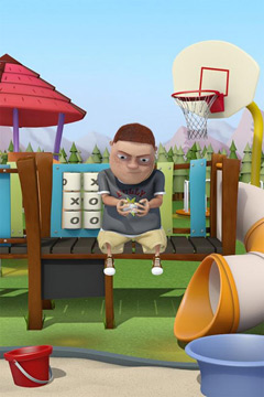 Capturas de pantalla del juego Playground Bully para iPhone, iPad o iPod.