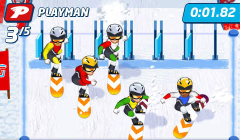 Скачать Playman: Winter games на iPhone бесплатно