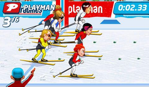 Free Playman: Winter games download for iPhone, iPad and iPod.