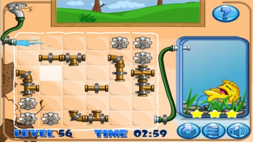 Free Plumber puzzle download for iPhone, iPad and iPod.