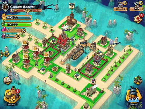 Descarga gratuita de Plunder pirates para iPhone, iPad y iPod.