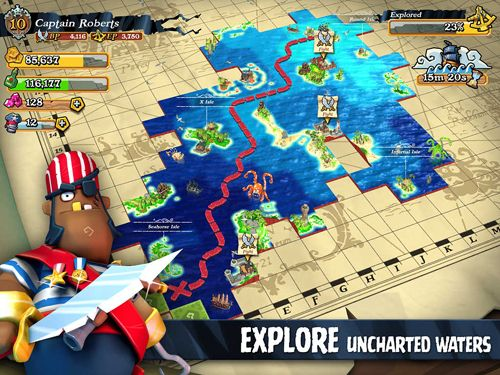 Capturas de pantalla del juego Plunder pirates para iPhone, iPad o iPod.
