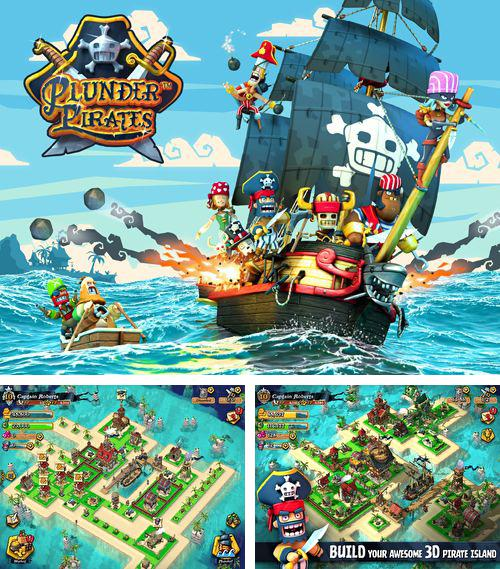 In addition to the game ATV Madness for iPhone, iPad or iPod, you can also download Plunder pirates for free.
