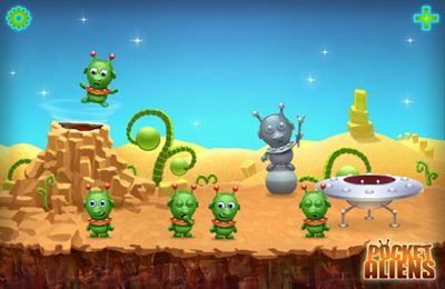Descarga gratuita de Pocket Aliens para iPhone, iPad y iPod.