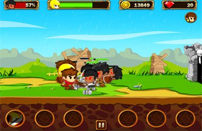 Capturas de pantalla del juego Pocket Army para iPhone, iPad o iPod.