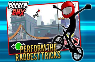 Screenshots do jogo Pocket BMX para iPhone, iPad ou iPod.