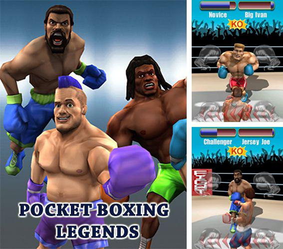 In addition to the game Back to eggs for iPhone, iPad or iPod, you can also download Pocket boxing: Legends for free.